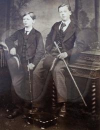 WOODHOUSE - Edward MOSTYN 1862 to 1912 left and John Forbes b1859.jpg
