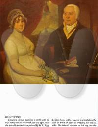 SECRETAN - Frederick and Mary Secretan in 1816