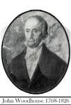 WOODHOUSE John 1768 to 1826